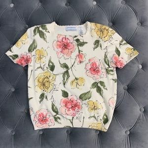 Vintage Flower Sweater